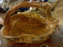 Teak Wood Fruit Holder