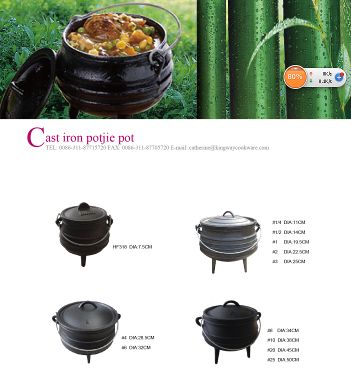 source south africa cast iron belly pot potjie pot with 3 le