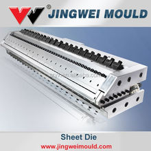 pvc sheets black & white plastic board die /hard plastic pvc sheet black extrusion mould