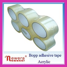 water activated OPP transparent packaging tape for carton sealing