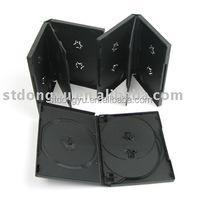 22mm black DVD box for 5-6 discs