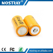 XSL 18350 1200mAh 3.7v rechargeable lithium ion battery for flashlight&torch