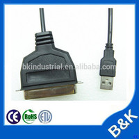 Hongkong popular usb to 36 pins printer cable for exhibition hall