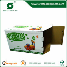 Customized safety durable paper boxes toy boxes