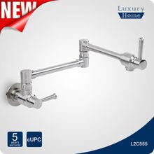 Hot style upc wall mount pot filler faucet