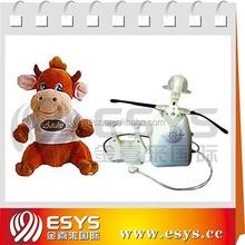 Plastik orman hayvan oyuncaklar/peluş oyuncak mekanizması