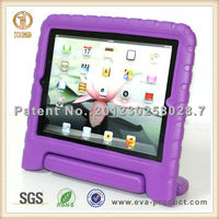 EVA Foam Kids friendly anti-shock case for ipad 2 with stand