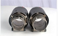 classical 101diagonal inlet57mm-outlet101mm for ak AKRAPOVIC carbon fiber exhaust tip exhaust pipe muffler