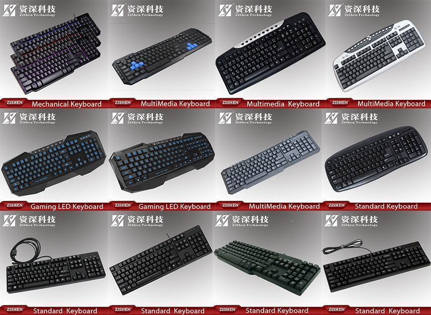 New Style Wholesale Illuminated Backlight Usb Keyboard