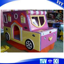Little car soft playground indoor amusement for kids