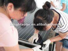 best price high efficiency photovoltaic black solar panel 300W with TUV/CE/CEC/IEC/ISO certificates