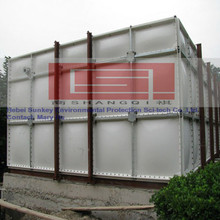 FRP SMC GRP Sectional Water Storage Tank for Hotel, Residense, Fire Water etc. ISO9001