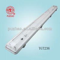 low price dustproof fluorescent lighting fixture 2x36w