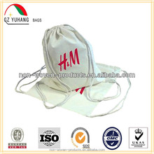 cotton fabric drawing string bags