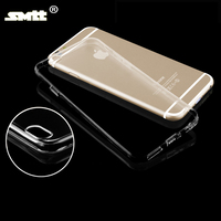 high quality mobile phone clear cover transparent ultra slim tpu case for iphone 6s 4.7""