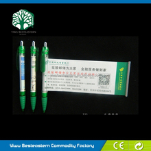 Advertising Slogan Pen, Promotional Pen With Banner, Promotional Pen Stand