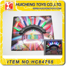 Top Quality six style lights Flashing Toy Headdress party hairpin HC84755