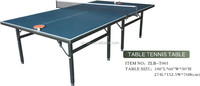 Indoor used ping pong tables,International Standard Table Tennis Table For Sale