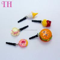mix custom shape colorful harmless wholesale mobile dust plug