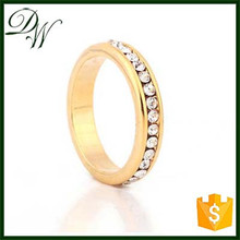 2015 free shipping latest design fashion jewelry adjustable 1 gram gold ring, simple gold ring designs