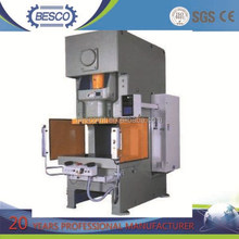 JH21 pneumatic press with multi function use for punching and forming aluminum foil container