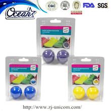 new hot-selling shoes air freshener ball/ customized shoes air freshener ball/aroma shoes ball air freshener