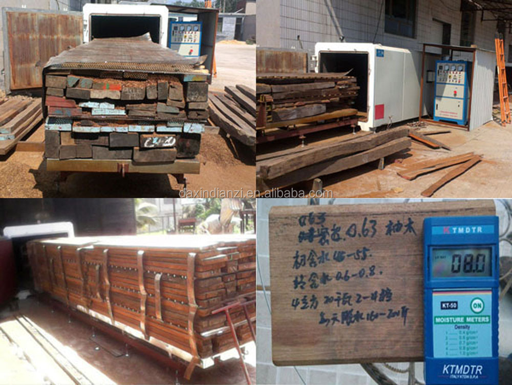 High frequency vacuum Wood drying machine /Timber dryer chamber /Lumber drier oven/Logs drying kiln