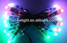High quality high brightness waterproof 12mm rgb pixel led