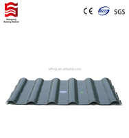 Plastic resin anti UV roofing tile Roma style 880