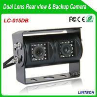China supplier dual lens ford ranger reversing camera for trucks