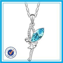 Zircon silver necklace 925 fashion choker necklace jewelry women accessories china