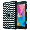 Heavy duty 3 in 1 defender hard case for ipad mini tablet cases shockproof case