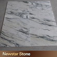 Made in China good quality white imported italian marble