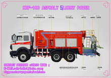 ali express asphalt slurry sealing machine /slurry sealing paver