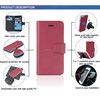 New design 3 in 1 detachable leather cell phone case for iphone 6 plus cases
