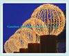 China supplies outdoor Chrismas hot sale outdoor large led Christmas ball lighted decoration ornament