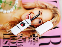 New arrivals USB rechargeable pen style heated electric eyelash curler makeup beauty tool