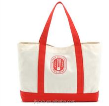 Custom canvas diaper bag japan canvas bag with long handle