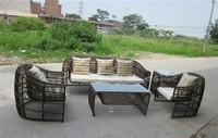 rattan outdoor furniture arabic sofa sets design