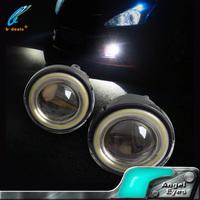 10w 3inch 3.5inch car angel eyes led toyota corolla fog lamp for motorcycle laser cob led fog light