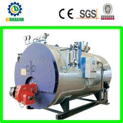 domestic horizontal heavy oil fired hot water boiler