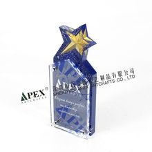 customized acrylic trophies/fashion acrylic trophy/acrylic trophy plaque