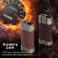100W!!!create healthy life e-cigaret 100W box mod digital electronic cigarette Mic USB port mechanical box mod fit 18650 battery