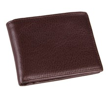 8054C Men's Genuine Leather Travel Wallet