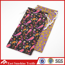 Custom Microfiber Eyeglasses Bag/Cell Phone Pouch