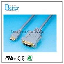 Factory best sell dvi to vga connection cable