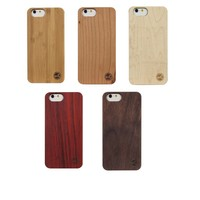 Nature Wood Handmade Protective Hard Phone Cover For Apple Iphone 6 6S Chinese Manufacturer