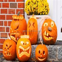 Halloween decor large plastic halloween pumpkin