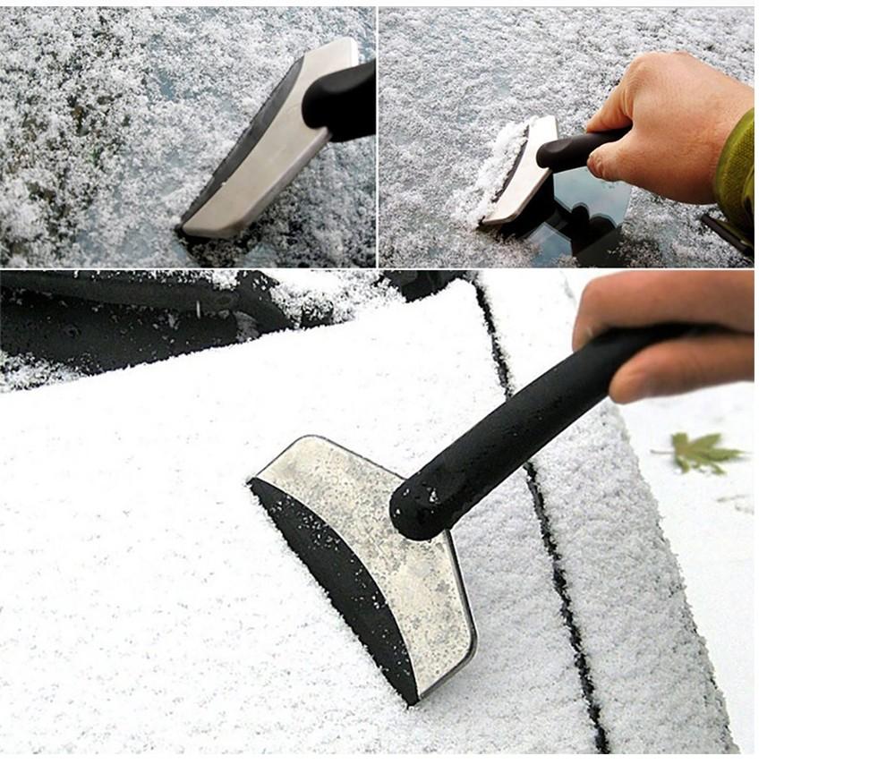 ABS matériau inoxydable roue chauffée pelle à neige