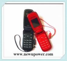2015 tipo coréia 1.77 polegada feature phone 2 G flip do telefone móvel